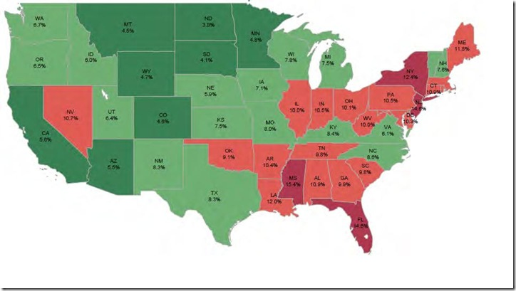 Nov LPS percentage non current state map