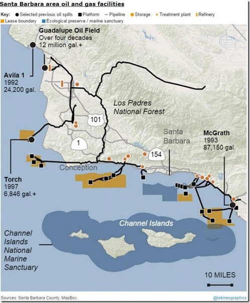 May 23 Santa Barbara spill map